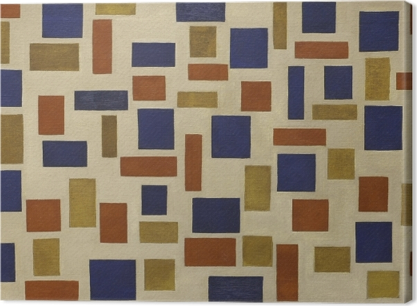 Leinwandbild Theo van Doesburg - Komposition XI - Reproductions
