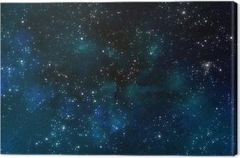 Leinwandbild Tiefen Weltraum oder Sternenhimmel