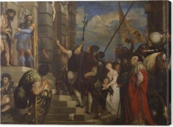 Leinwandbild Tizian - Ecce Homo