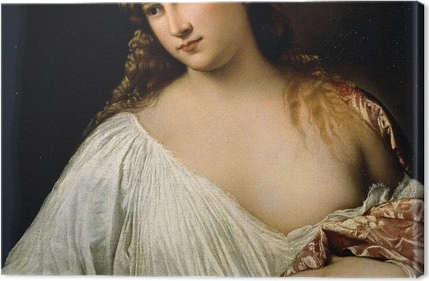 Leinwandbild Tizian - Flora - Reproduktion
