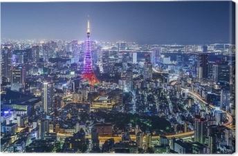 Leinwandbild Tokio Japan City Skyline