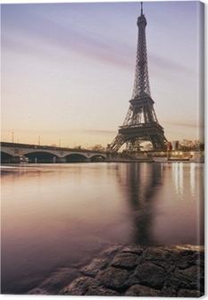 Leinwandbild Tour Eiffel - Paris - Frankreich