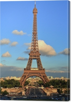 Leinwandbild Tower eiffel paris