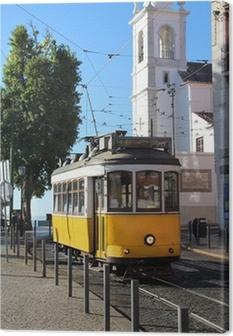 Leinwandbild Tram lisbon