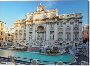 Leinwandbild Trevi-Brunnen. Rom, Italien.