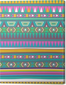 Leinwandbild Tribal Textur