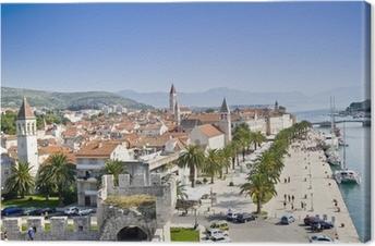 Leinwandbild Trogir Kroatien