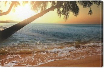 Leinwandbild Tropical beach
