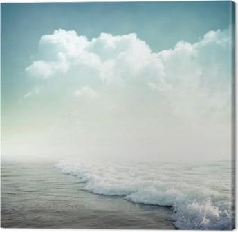 Leinwandbild Tropical Hintergrund