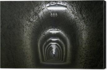 Leinwandbild Tunnel des Lebens