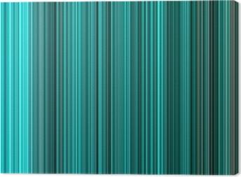 Leinwandbild Türkis Farben abstrakte vertikale Linien Hintergrund.