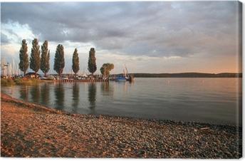 Leinwandbild Ufer Uhldingen