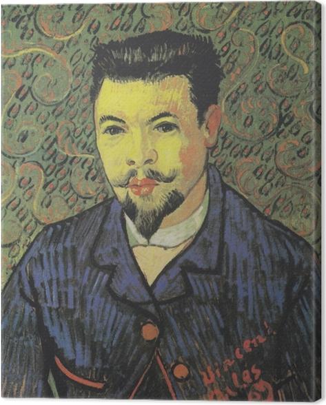 Leinwandbild Vincent van Gogh - Bildnis Dr. Félix Rey - Reproductions