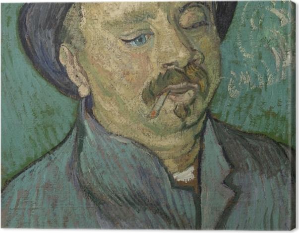 Leinwandbild Vincent van Gogh - Bildnis eines einäugigen Mannes - Reproductions
