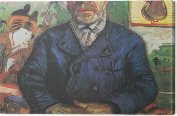 Leinwandbild Vincent van Gogh - Bildnis Père Tanguy - Reproductions