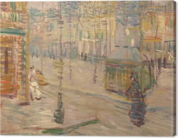 Leinwandbild Vincent van Gogh - Boulevard de Clichy - Reproductions
