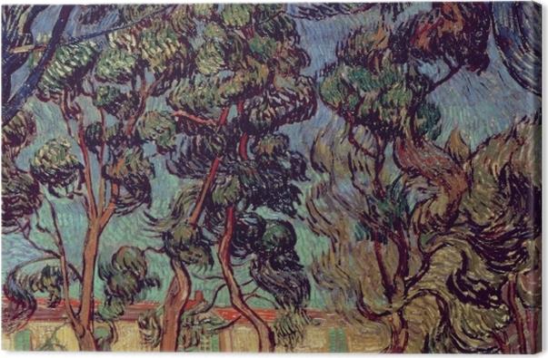 Leinwandbild Vincent van Gogh - Das Hospital in Saint-Rémy - Reproductions