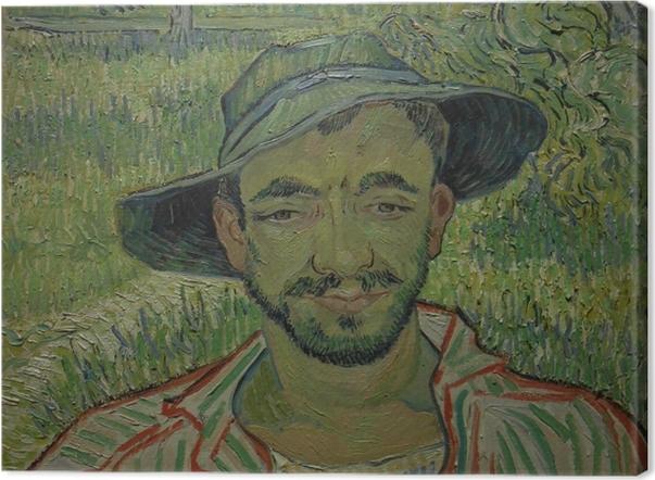 Leinwandbild Vincent van Gogh - Der Gärtner - Reproductions
