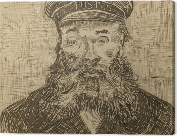 Leinwandbild Vincent van Gogh - Der Postmeister Joseph Roulin - Reproductions