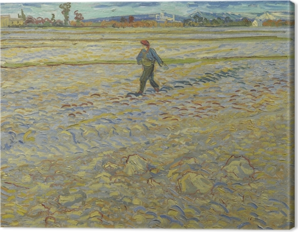 Leinwandbild Vincent van Gogh - Der Sämann - Reproductions