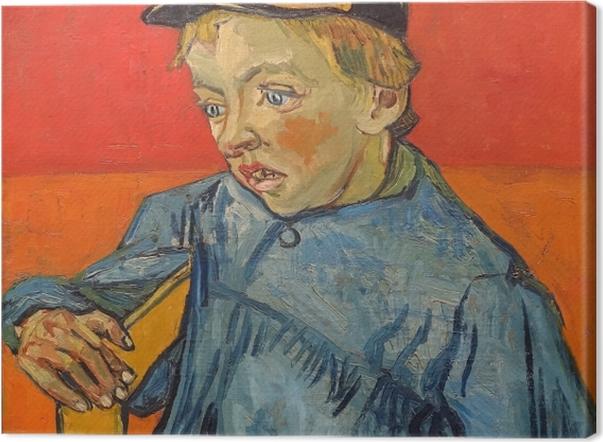 Leinwandbild Vincent van Gogh - Der Schüler - Reproductions