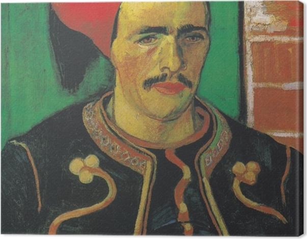 Leinwandbild Vincent van Gogh - Der Zuave - Reproductions