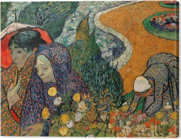 Leinwandbild Vincent van Gogh - Die Frauen von Arles - Reproductions