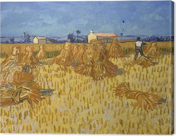 Leinwandbild Vincent van Gogh - Ernte in der Provence - Reproductions