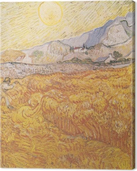 Leinwandbild Vincent van Gogh - Ernte - Reproductions
