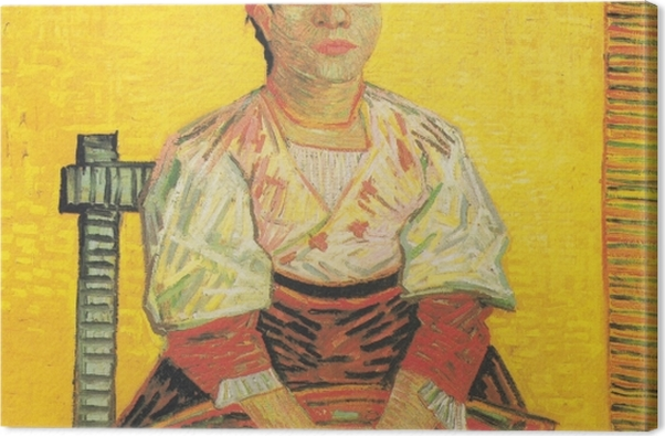 Leinwandbild Vincent van Gogh - Italienische Frau - Reproductions