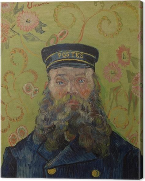 Leinwandbild Vincent van Gogh - Joseph-Etienne Roulin - Reproductions