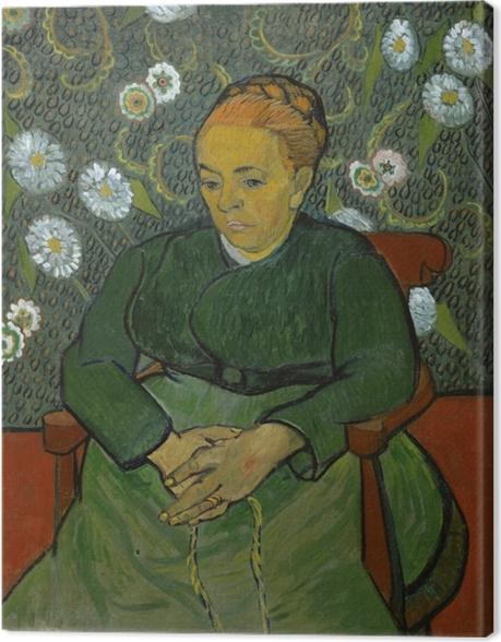 Leinwandbild Vincent van Gogh - La Berceuse - Reproductions