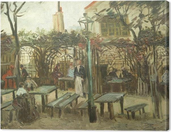 Leinwandbild Vincent van Gogh - La Guinguette - Reproductions