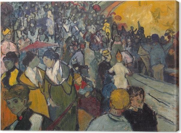 Leinwandbild Vincent van Gogh - Les Arènes - Reproductions
