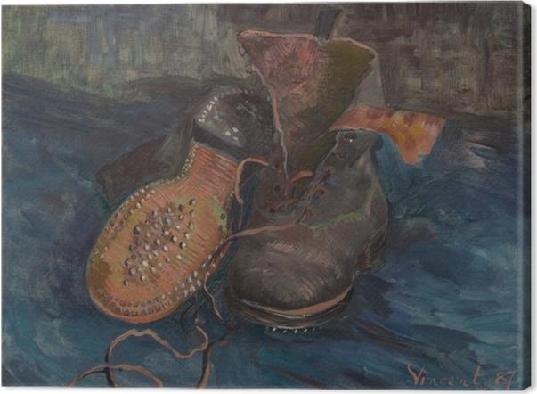 Leinwandbild Vincent van Gogh - Schuhe - Reproductions