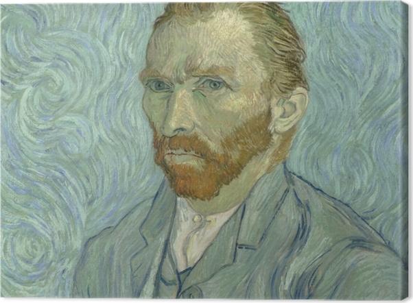 Leinwandbild Vincent van Gogh - Selbstbildnis - Reproductions