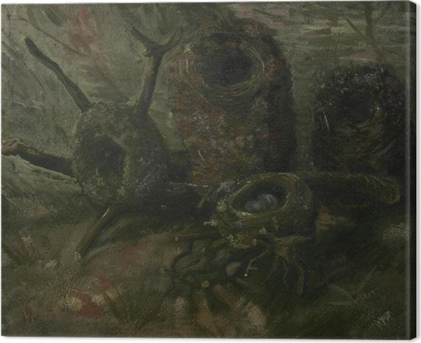 Leinwandbild Vincent van Gogh - Vogelnester - Reproductions