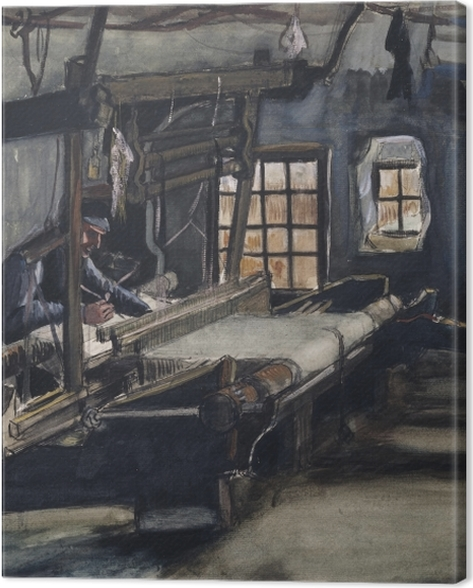 Leinwandbild Vincent van Gogh - Weber - Reproductions