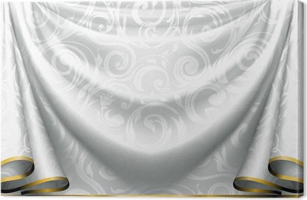 Leinwandbild Vorhang Muster • Pixers® - Wir leben, um zu verändern