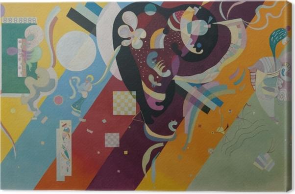 Leinwandbild Wassily Kandinsky - Komposition IX - Reproduktion