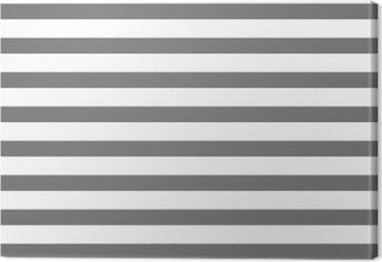 Leinwandbild Weiß und grau gestreift