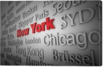 Leinwandbild Weltstadt2 New York