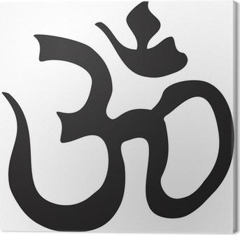 Leinwandbild Wenn Symbol nach Goa