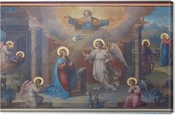 Leinwandbild Wien - Verkündigung frisch Karmeliter Kirche