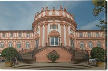 Leinwandbild Wiesbaden Biebrich Schloss Empore