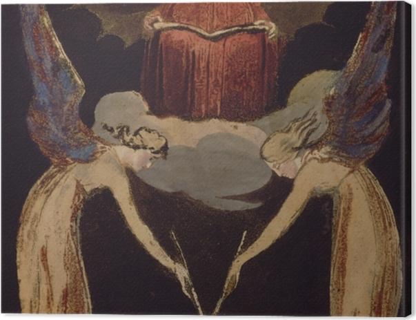 Leinwandbild William Blake - Jerusalem - Reproduktion