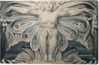 Leinwandbild William Blake - Personifikation des Grabes