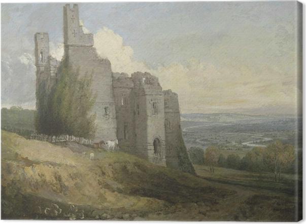 Leinwandbild William Turner - Conwy Castle - Reproduktion