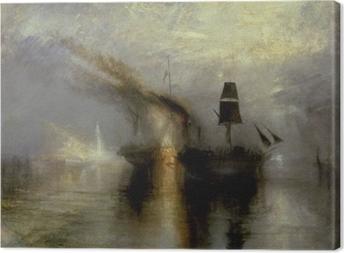 Leinwandbild William Turner - Frieden - Bestattung auf See