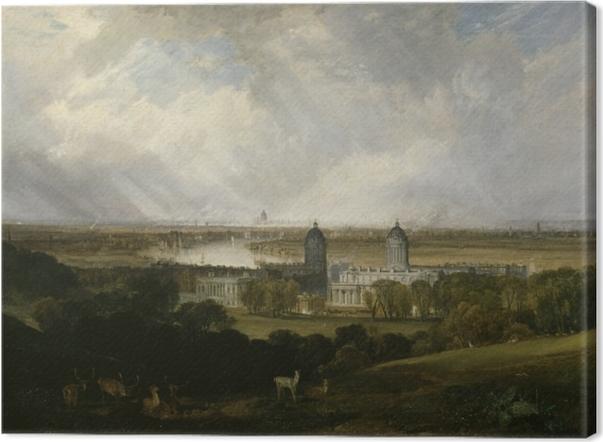 Leinwandbild William Turner - London - Reproduktion